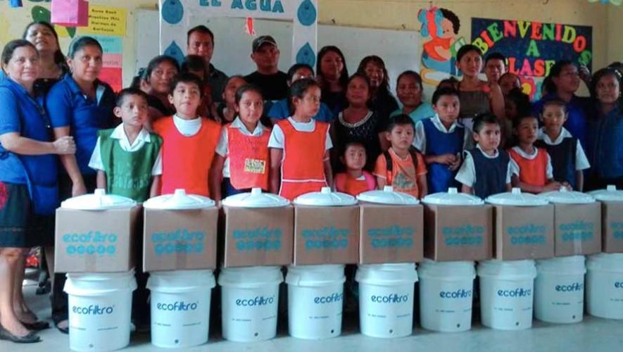 Concurso artístico de Ecofiltro Guatemala