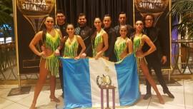 La academia guatemalteca Dance Art obtuvo el segundo lugar en una de las categorías del World Salsa Summit 2017. (Foto: Hector Blanco)