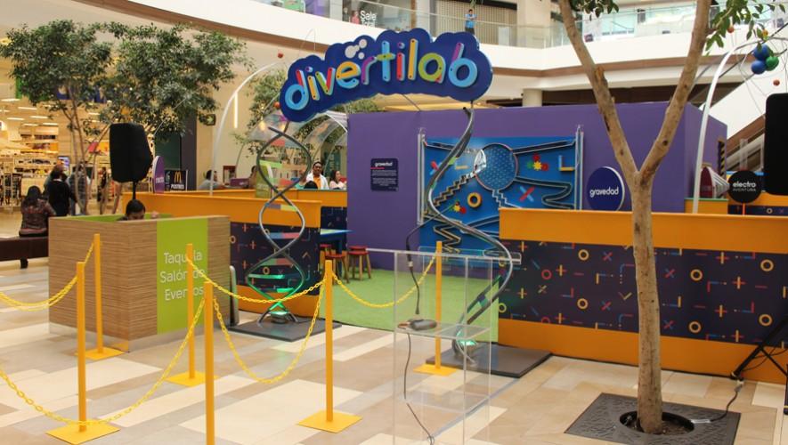 Los niños podrán experimentar en un laboratorio científico creado para ellos en Naranjo Mall. (Foto: Naranjo Mall)