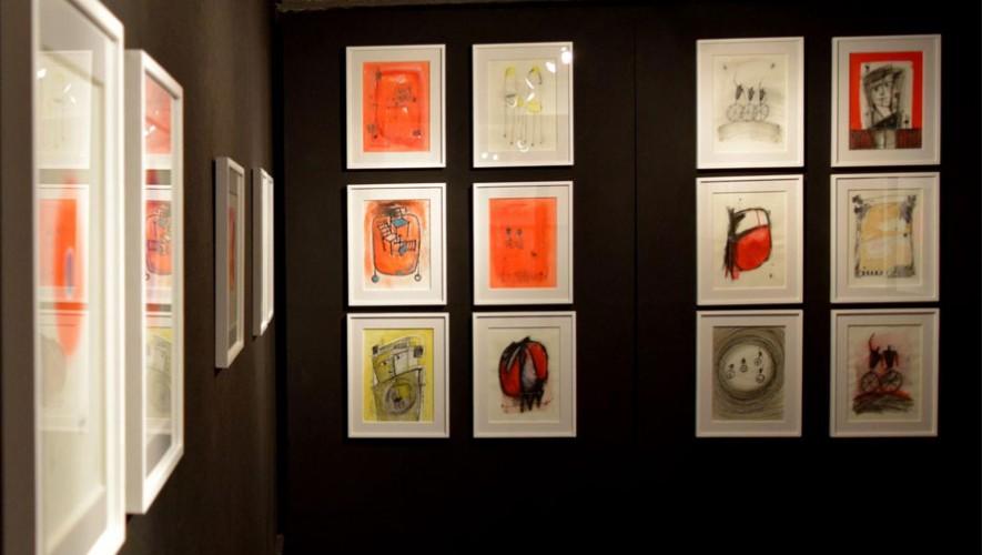 Exposición de arte en la galería El Attico