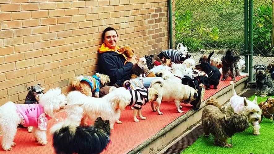 Erick Cruz, el entrenador de perros de Guatemala presenta su primer libro