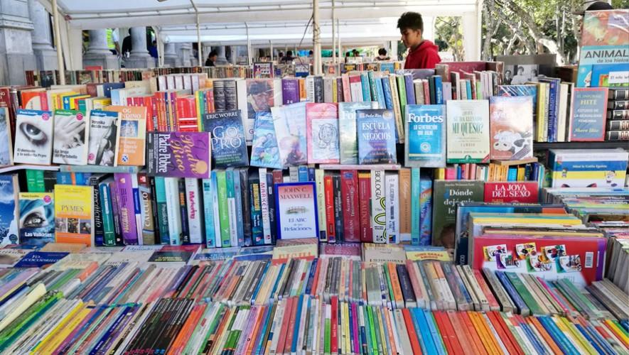 Tienes hasta el 5 de febrero para visitar la Feria Escolar del Libro en la zona 1 de la capital. (Foto: Paseo La Sexta)