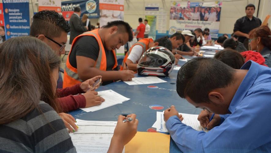 Asiste a la primera feria de empleo del año en Villa Nueva y obtén tu trabajo ideal. (Foto: Municipalidad de Villa Nueva)