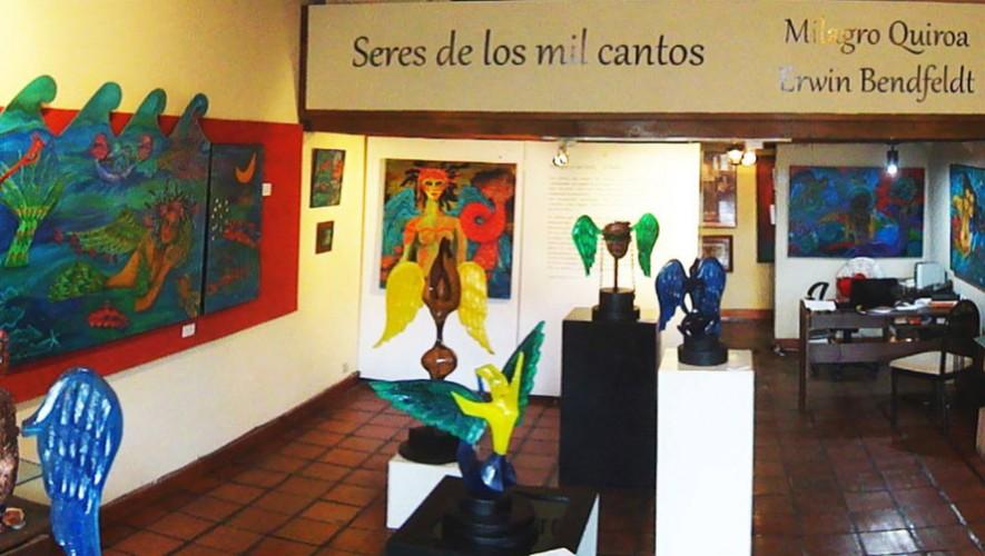 Encuentro con el arte en Galería de Arte Rocío Quiroa