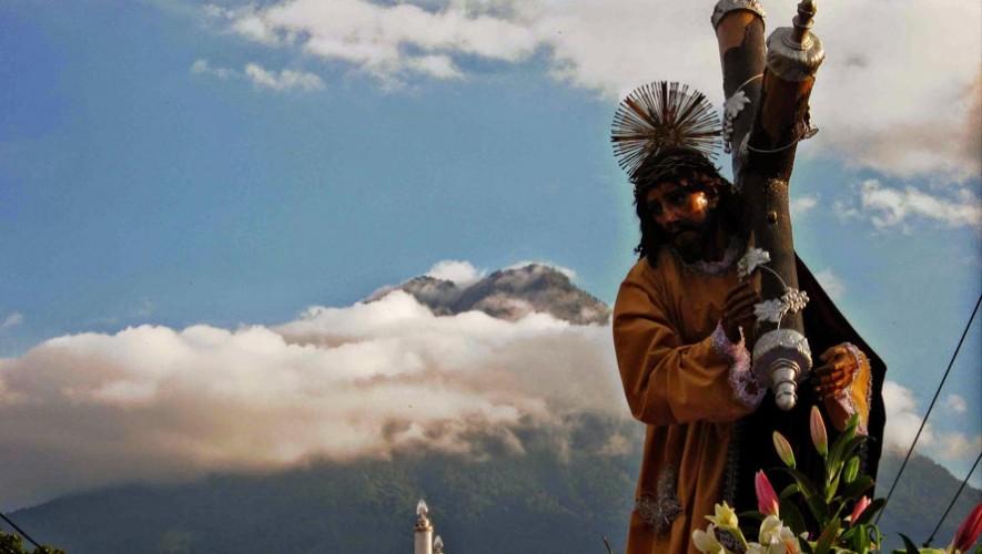 Procesión de Jesús Nazareno del Silencio, Antigua Guatemala | Semana Santa 2017