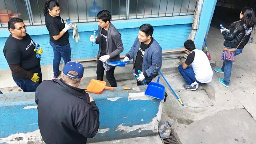 Únete a la segunda jornada de limpieza que se realizará en el Hospital San Juan de Dios en febrero. (Foto: Bloque Organizado por la Salud -BOS-)