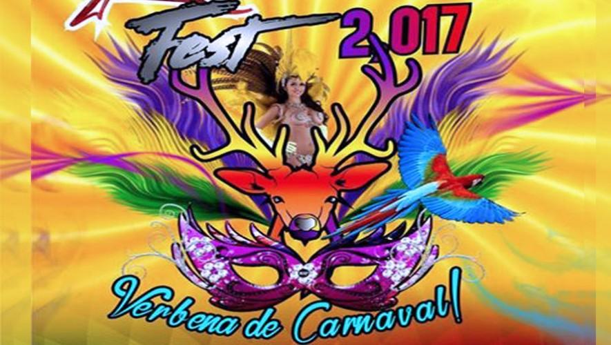 Fiesta de carnaval Rumba Fest Mazatenango | Febrero 2017