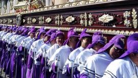 Regulado en el Código de Trabajo está que jueves, viernes y sábado santo son asueto. (Foto: Cucurucho en Guatemala)