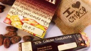 Taller de chocolate en ChocoMuseo Cayalá
