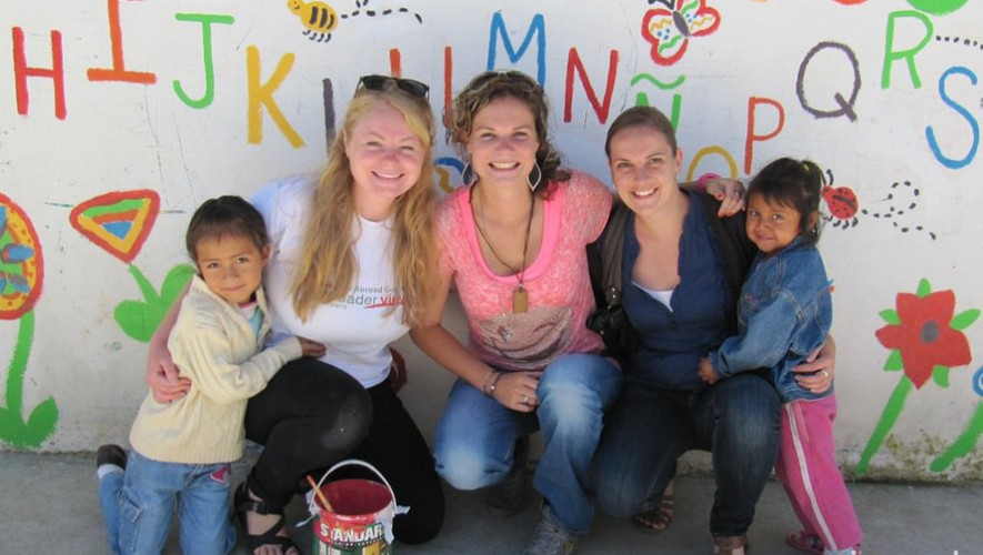 Líderes de todo el mundo visitarán Guatemala para mejorar el turismo de voluntariado. (Foto: A Broader View Volunteers)