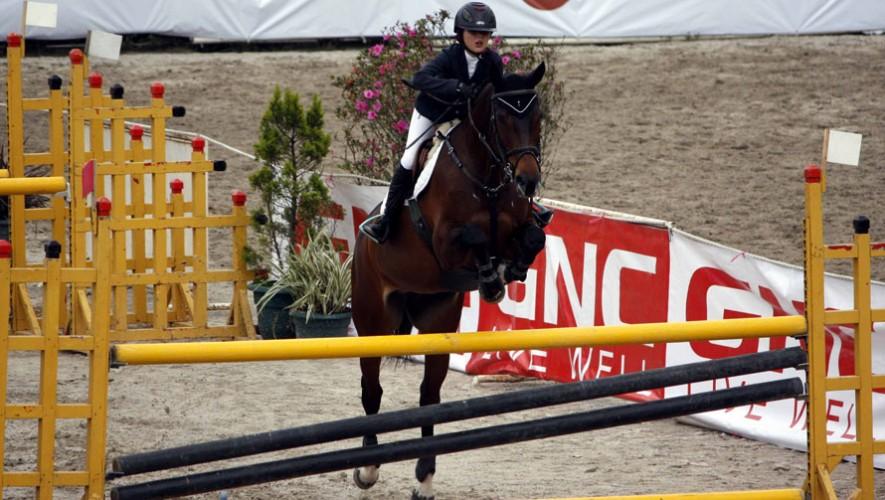 Valentina Arenas sumó su segundo triunfo en lo que va de la temporada de Wellington, en Estados Unidos. (Foto: Prensa ANEG)