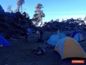 area campamento del tacana