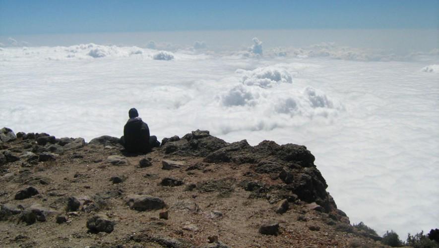Ascenso y campamento al Volcán Tajumulco por K'ashem   Marzo 2017