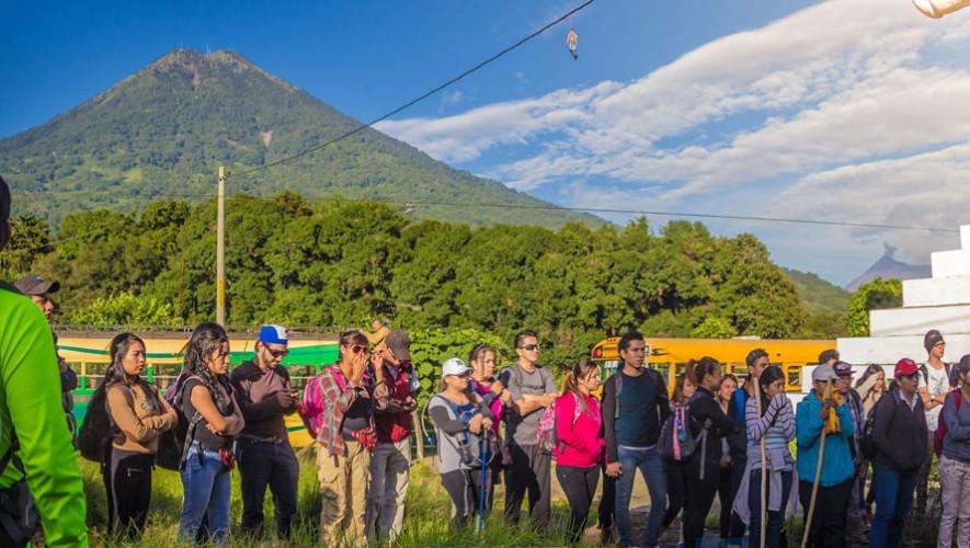 Ascenso dominical al Volcán de Agua | Marzo 2017