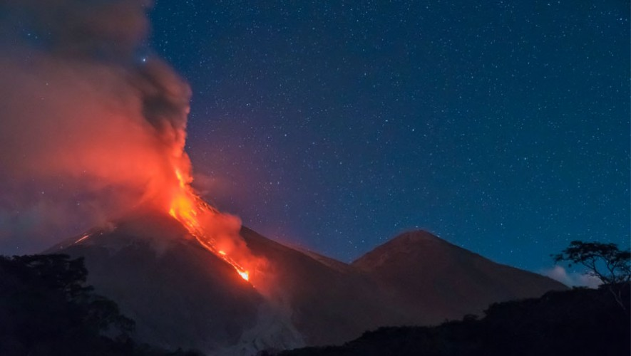Ascenso al Volcán de Fuego por ruta Alotenango | Marzo 2017