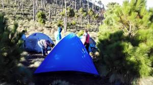 campamento volcan de fuego