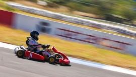 Fernando Galdamez fue el ganador de la prueba reina del kartismo nacional. (Foto: Speed-Addiction)