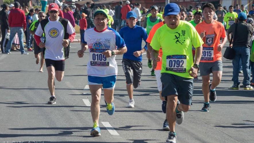 Carrera 10K Lazos de Bondad en Quetzaltenango | Febrero 2017