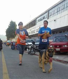 carrera en quetzaltenango - primera línea