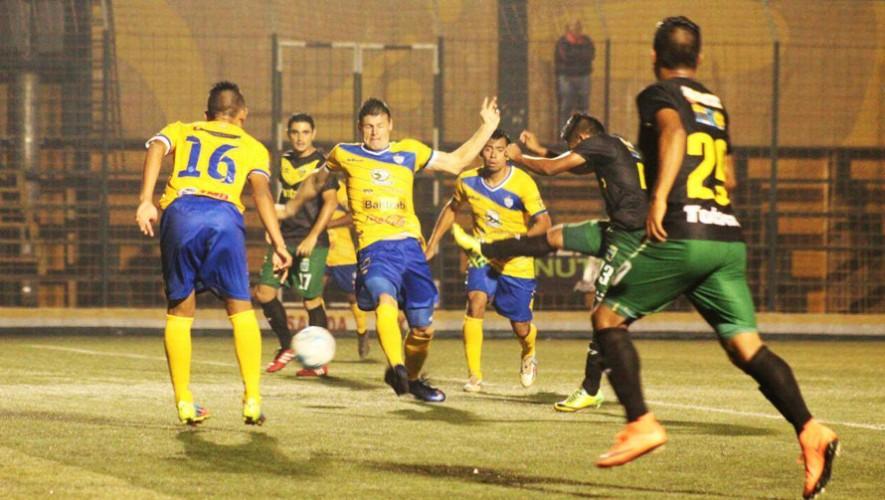 Partido de Cobán vs Petapa por el Torneo Clausura   Febrero 2017