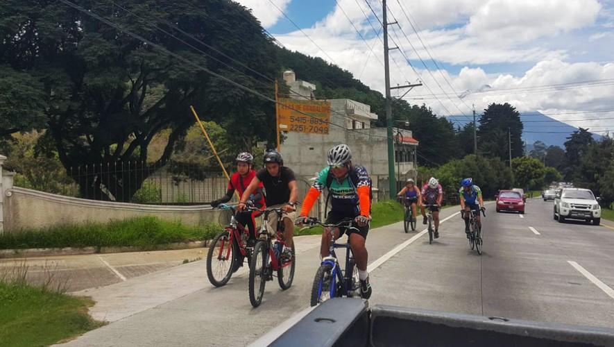 Travesía en bicicleta por Mixco-Villa Nueva-San Cristóbal | Marzo 2017