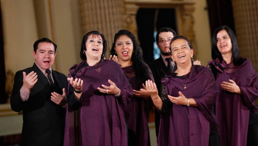 Concierto del Coro Nacional de Guatemala en Centro Cultural Miguel Ángel Asturias   Febrero 2017