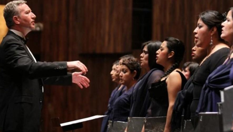 Concierto del Coro Nacional de Guatemala en Palacio de los Capitanes Antigua Guatemala   Febrero 2017