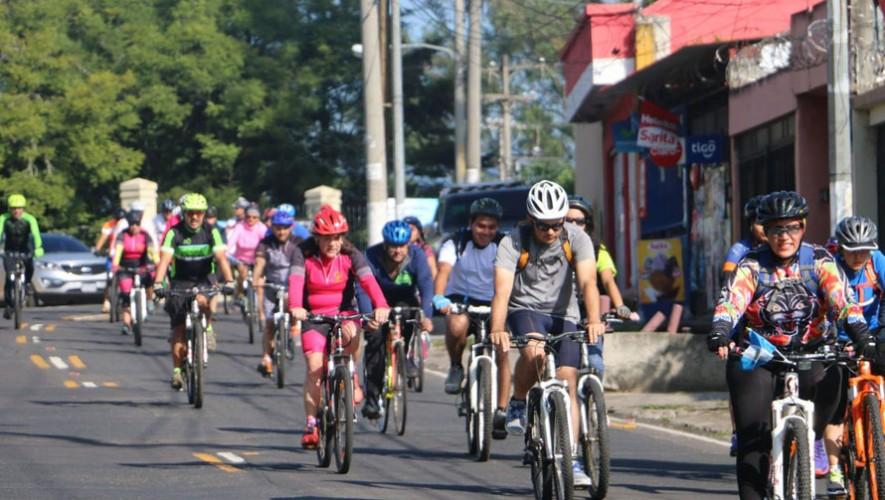 Desafío en bicicleta de 100 km en la Ciudad de Guatemala| Marzo 2017