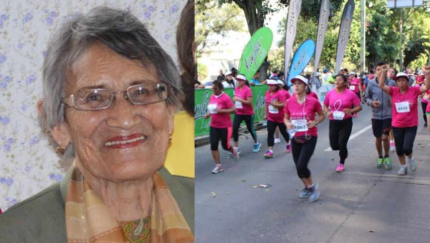 Doña Flory celebrará sus 90 años contribuyendo con su parte a la lucha contra el cáncer de mama. (Foto: Cortesía de Avon/Sports & Marketing)