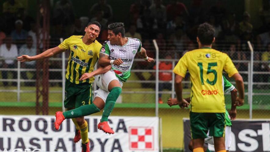 Partido de Guastatoya vs Antigua por el Torneo Clausura   Marzo 2017