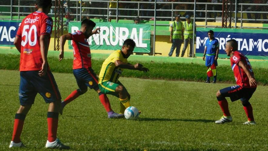 Partido de Guastatoya vs Xelajú por el Torneo Clausura | Febrero 2017