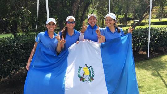 Damas primer lugar en Centroamericano de golf 2017