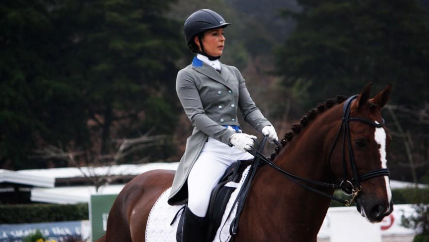 La actual ganadora del ranking 2016, logró confirmar su dominio en la categoría Internacional A durante la primera fecha. (Foto: Prensa ANEG)
