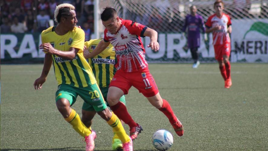 Partido de Malacateco vs Guastatoya por el Torneo Clausura | Febrero 2017