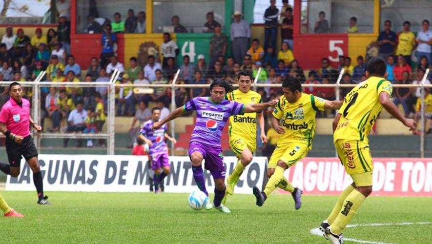 Partido de Marquense vs Antigua por el Torneo Clausura   Febrero 2017