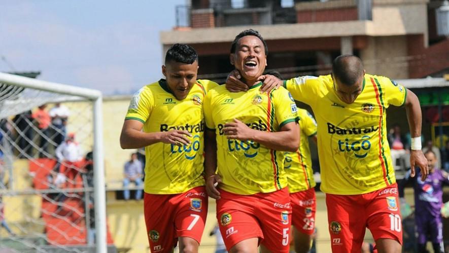 Partido de Marquense vs Mictlán por el Torneo Clausura   Marzo 2017
