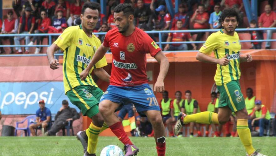 Partido de Municipal vs Guastatoya por Torneo Clausura | Febrero 2017