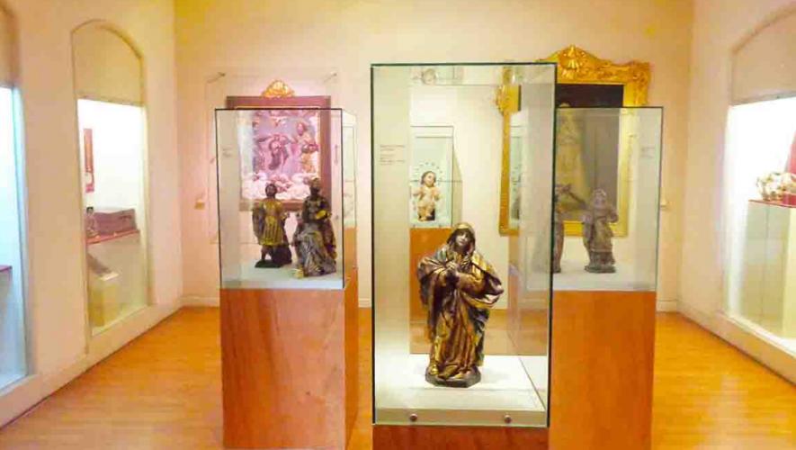 Arte religioso en Museo Arquidiocesano de Santiago de Guatemala