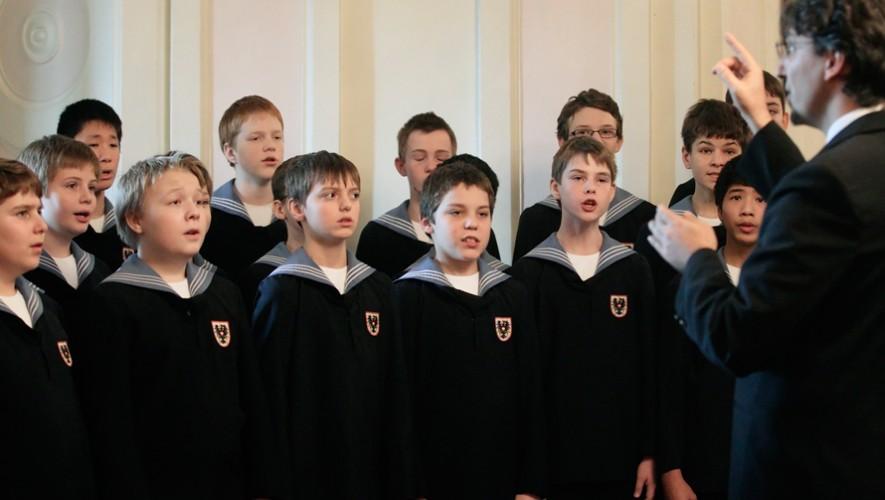 Concierto de Los Niños Cantores de Viena en el Centro Cultural Miguel Ángel Asturias | Agosto 2017
