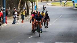 La legionaria Bruderer se hizo presente en la primera prueba que tuvo el ciclismo de Guatemala en este 2017. (Foto: FGC)