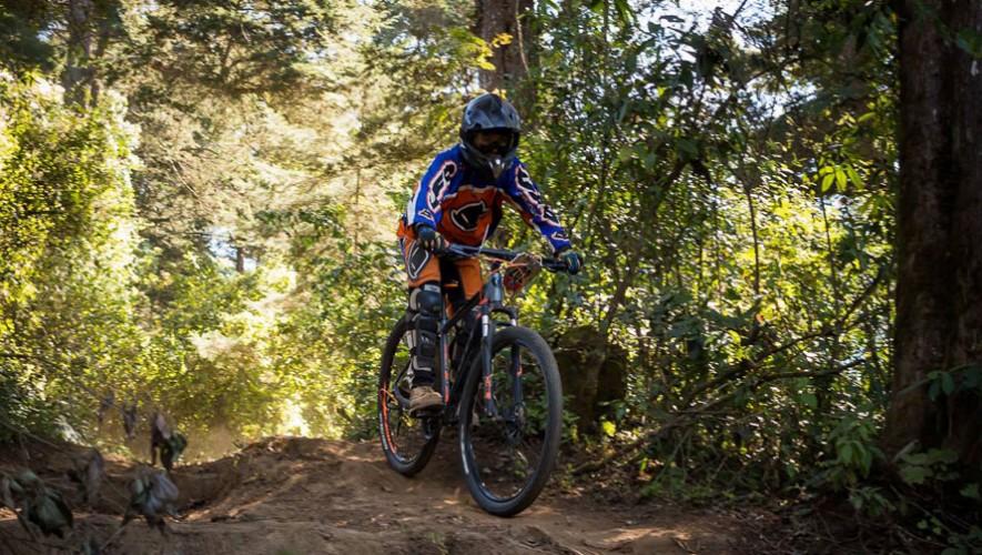 Segunda fecha del Campeonato de Downhill en Guatemala   Marzo 2017