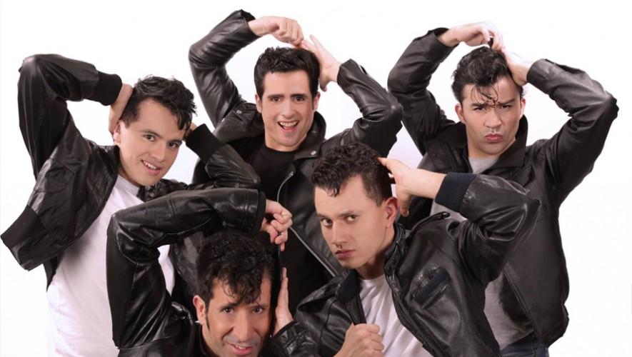"""Obra de teatro """"Grease"""" en Guatemala en el Teatro Lux"""