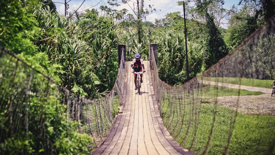 Travesía en bicicleta de Río Dulce a Punta de Palma | Marzo 2017