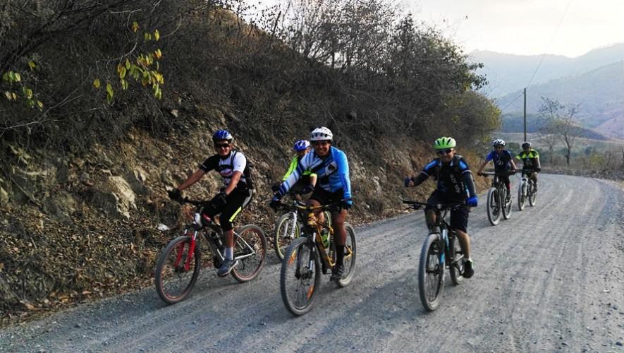 Travesía en bicicleta de Sanarate a Jalapa | Febrero 2017