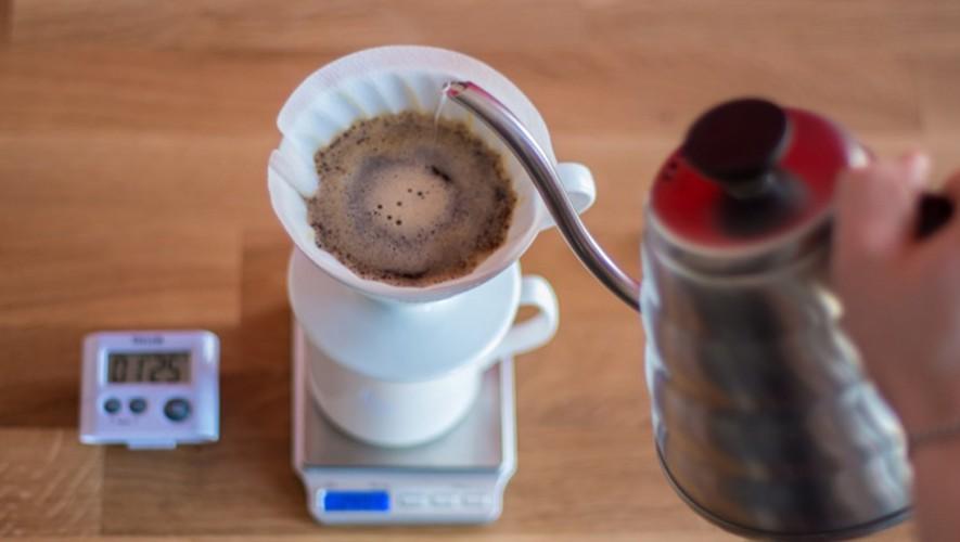 Clase para aprender a preparar café en V60 y Chemex para parejas en Opíparo | Febrero 2016
