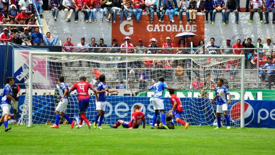 Partido de Xelajú vs Suchitepéquez por el Torneo Clausura   Febrero 2017