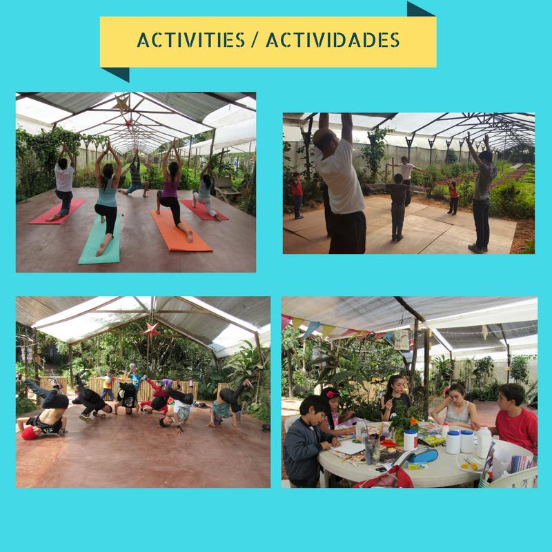 Actividades en Caoba Farms