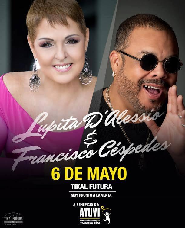 Lupita D'Alessio y Francisco Cespedes