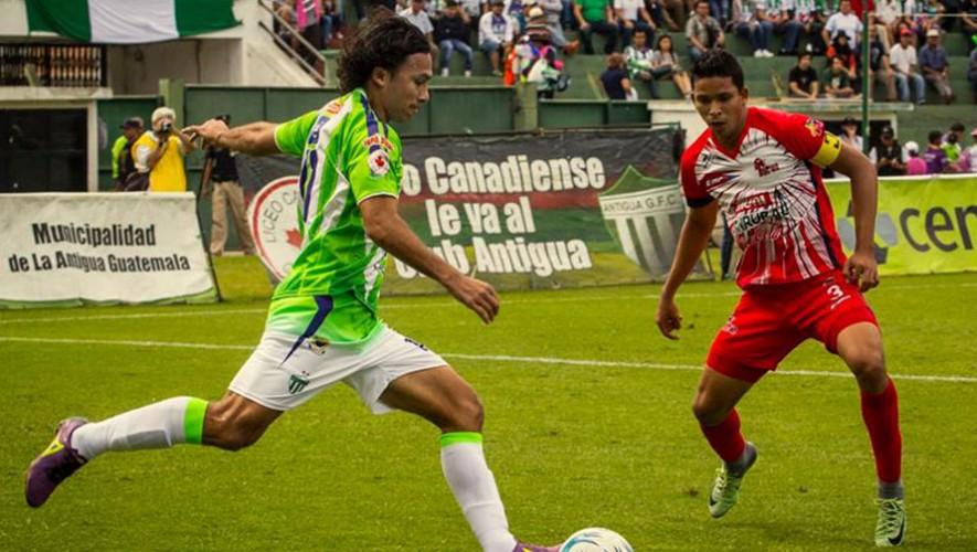 Partido de Malacateco vs Antigua por el Torneo Clausura | Marzo 2017