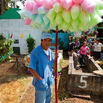 Algodones de azúcar en Guatemala
